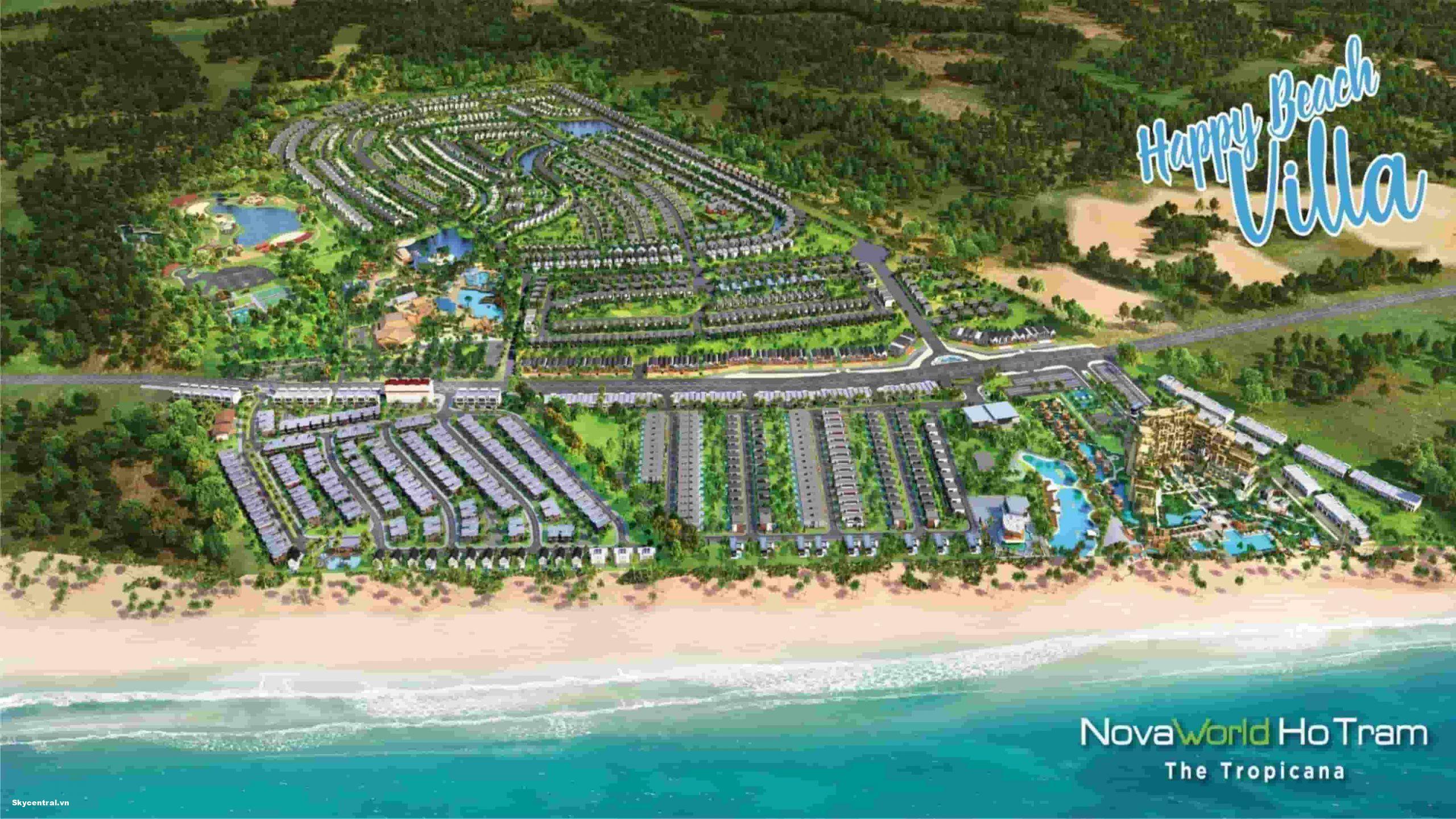 novaland happy beach villas