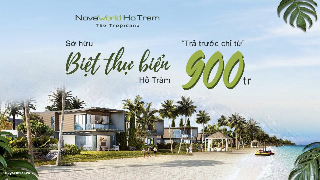 bảng giá dự án novaworld the tropicana