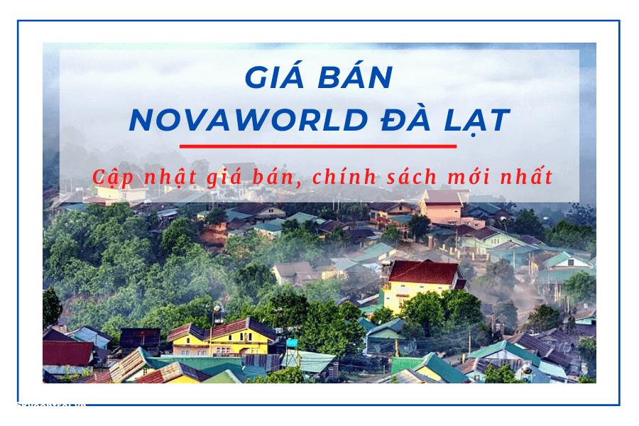 giá bán novaworld đà lạt
