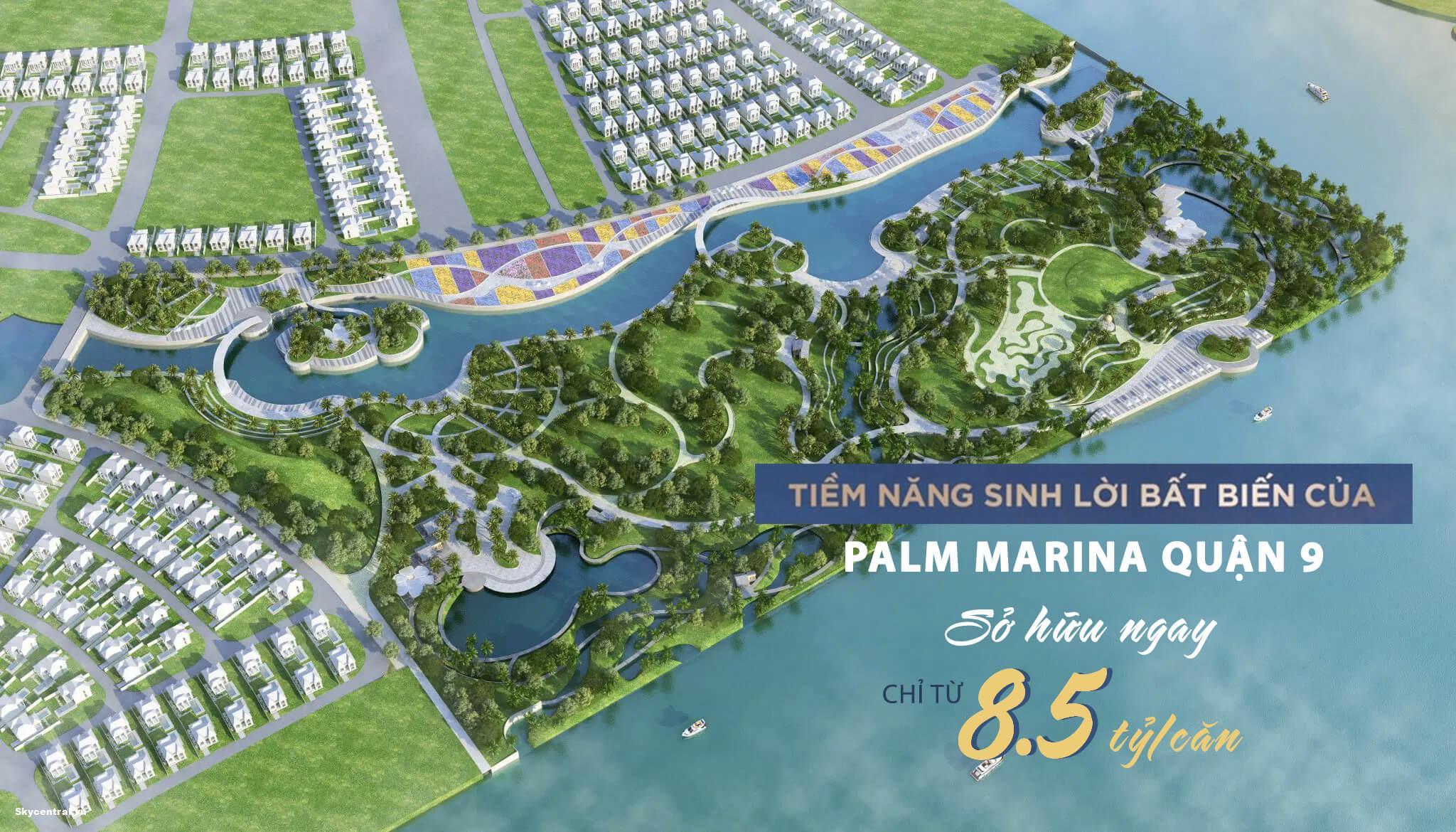 giá căn hộ palm marina quận 9