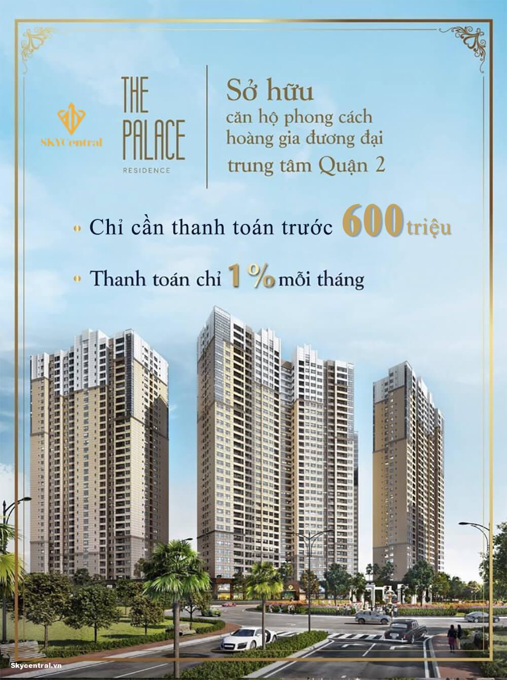 giá căn hộ the palace residence