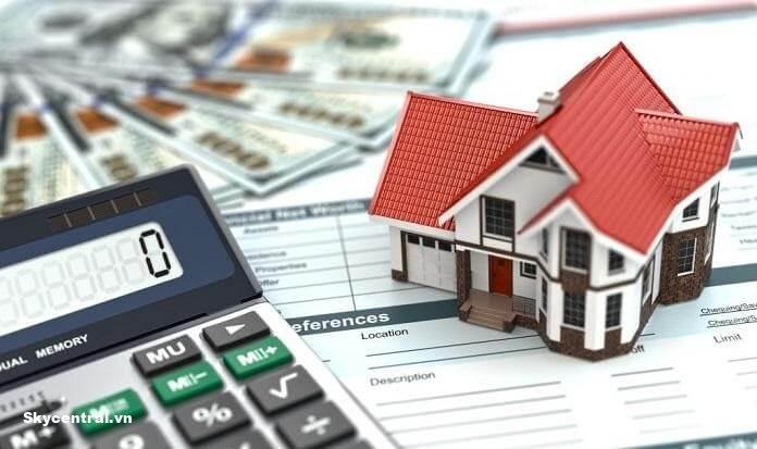 Ngân hàng hỗ trợ vay vốn khi mua nhà trả góp.