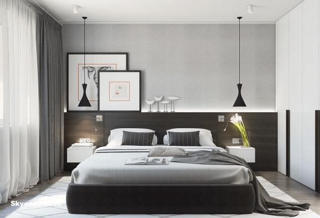 Thiết kế nội thất phòng ngủ chung cư nhỏ 60m²