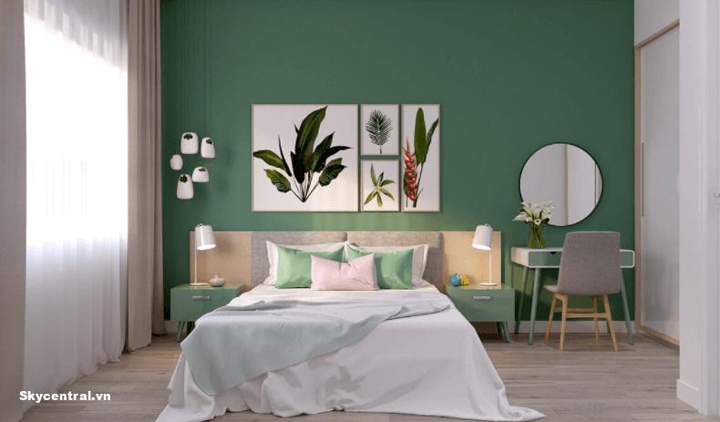 Thiết kế nội thất phòng ngủ cho căn hộ 40m²
