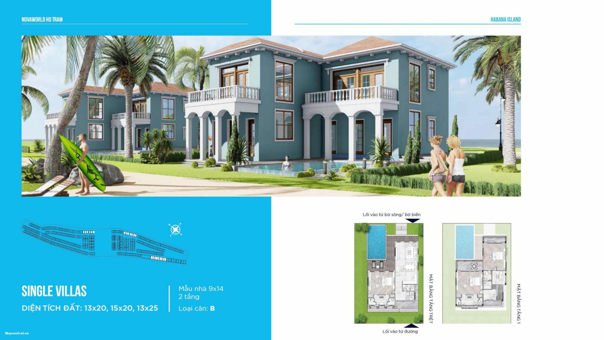 thiết kế dự án novaland island