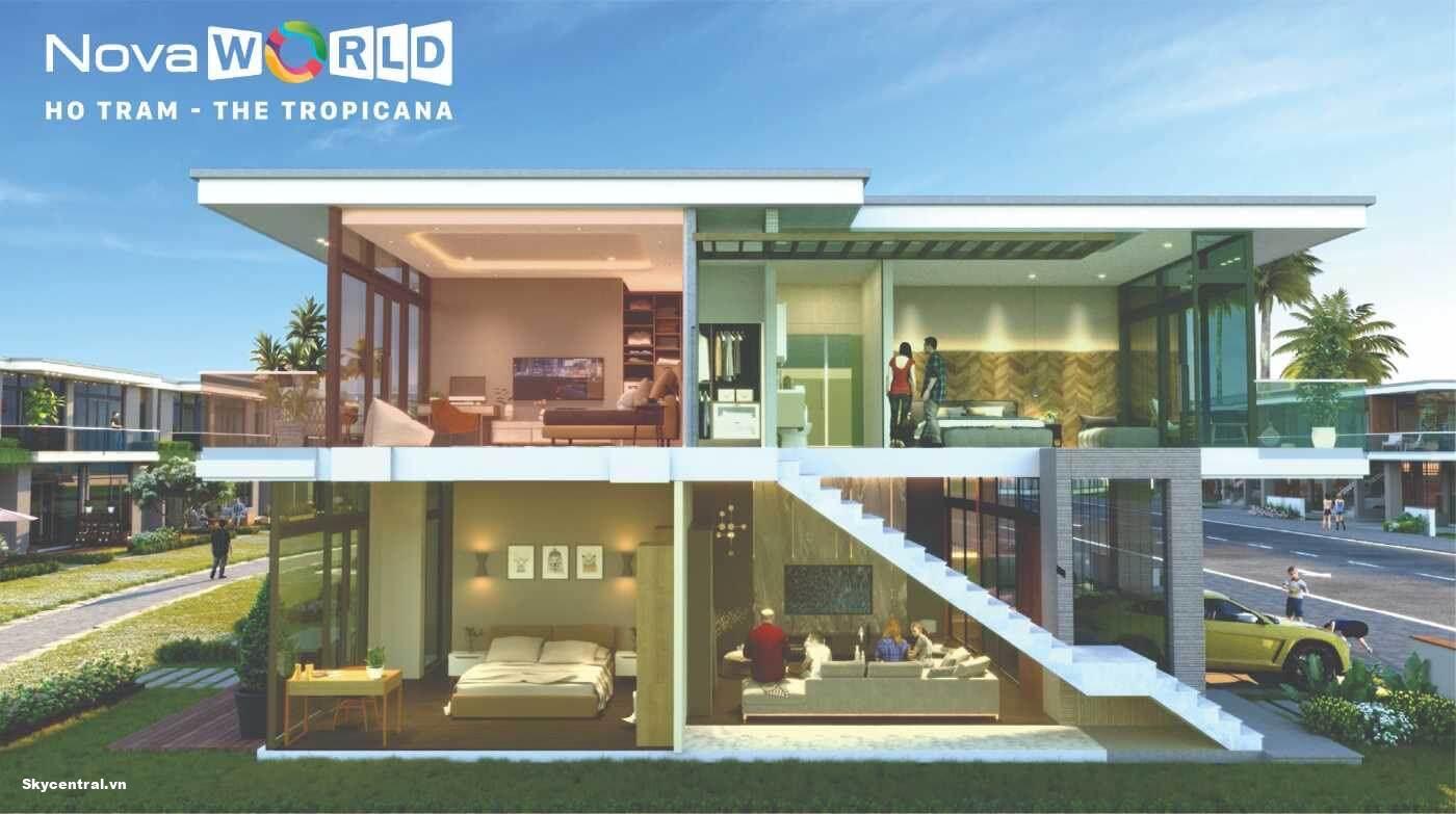 thiết kế mẫu nhà happy beach villas