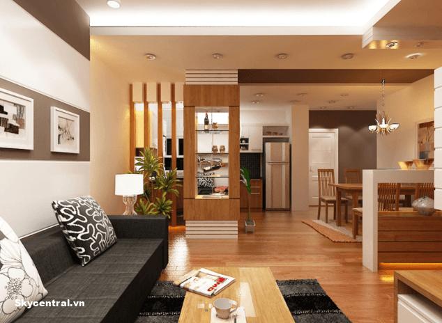 Thiết kế nội thất chung cư diện tích 70m2