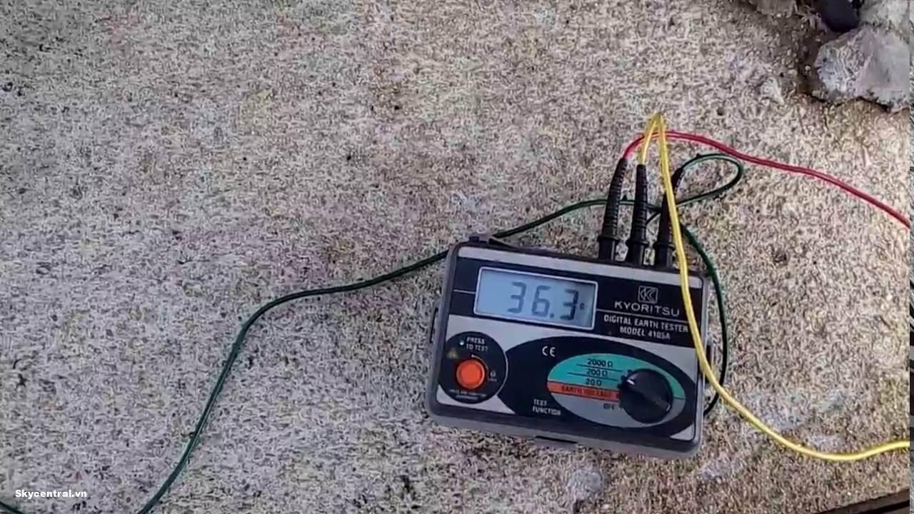 Tiêu chuẩn khi đo điện trở đất