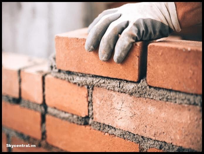 Cách tính đơn giản và chính xác vật liệu xây 1m2 tường
