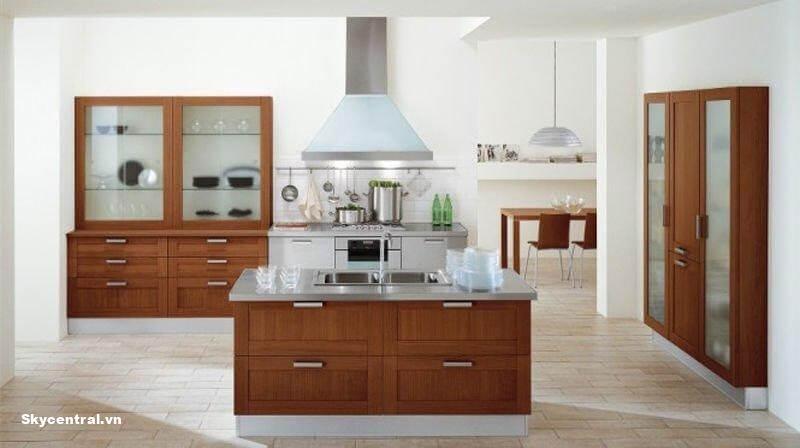 Ngôi nhà cấp 4 hài hòa giữa màu sắc, cấu trúc và cách sắp xếp đồ nội thất.