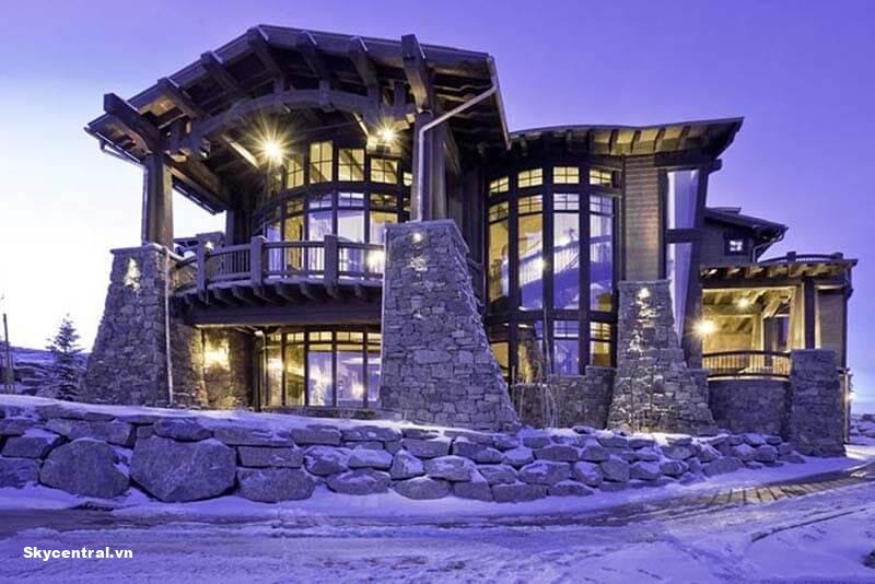 Ski Dream Home, Utah mang vẻ đẹp quý phái