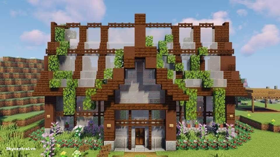 Giới thiệu cách xây và gợi ý những ngôi nhà đẹp trong Minecraft