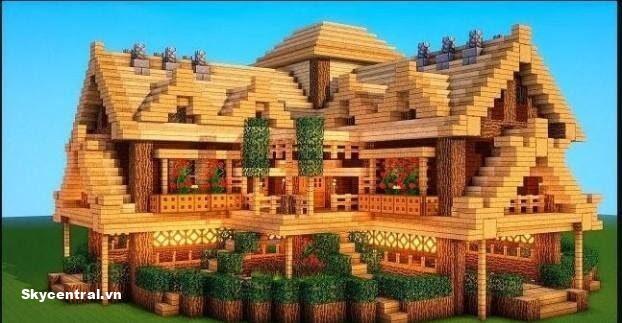 Xây dựng nhà bằng mọi vật liệu gỗ, gạch…