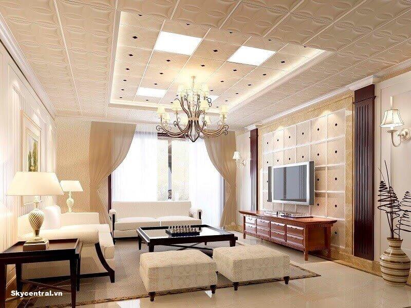 Trang trí, thiết kế trần nhà là gì?