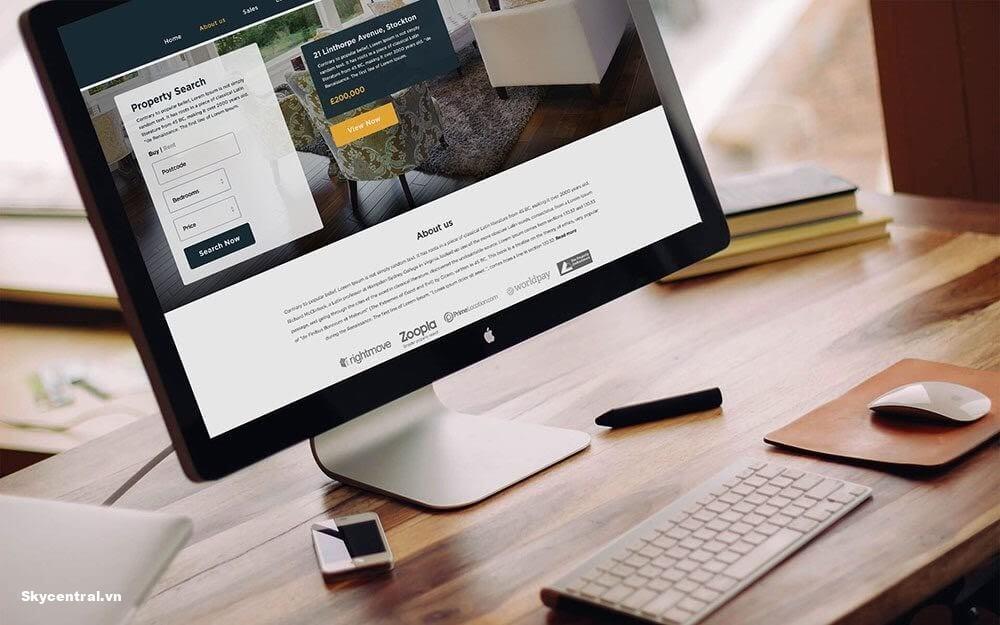 Website cho người nước ngoài thuê nhà chuyên nghiệp có đầy đủ thông tin