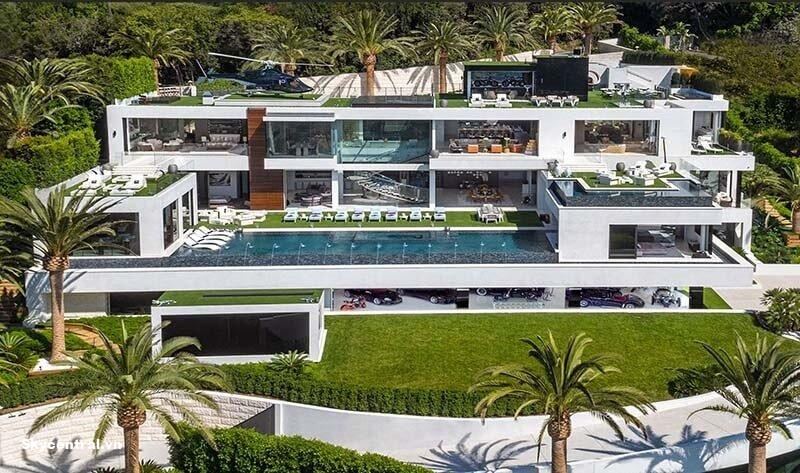 Thiết kế sang chảnh của biệt thự Bel Air Spec Manor, Los Angeles