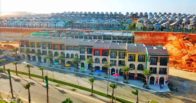 Dự án sở hữu nhiều biệt thự song lập, đơn lập, nhà phố