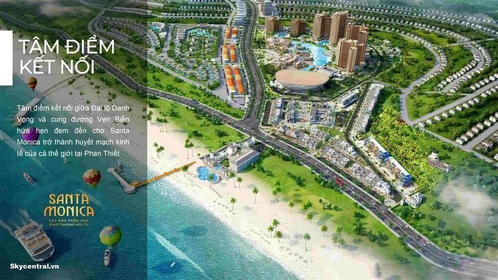 Vị trí Santa Monica NovaWorld Bình Thuận Phan Thiết
