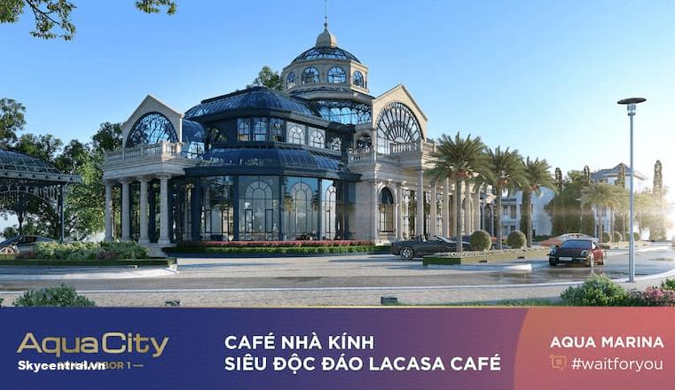 Cafe nhà kính siêu độc đáo Lacasa Cafe