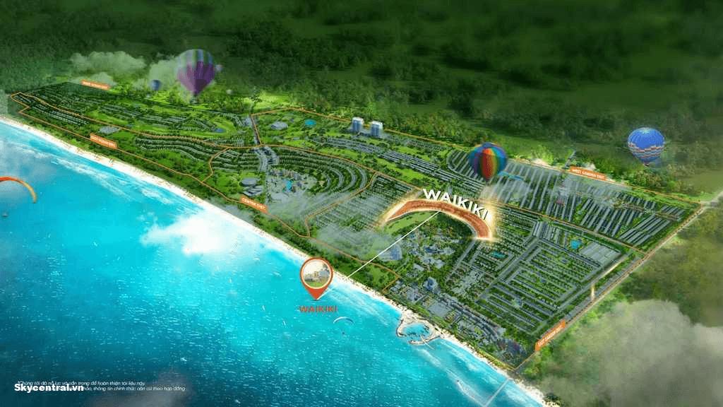 Phân khu thuộc dự án Novaworld Phan Thiết