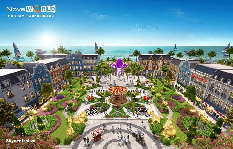 Quảng trường Wonderland Hồ Tràm